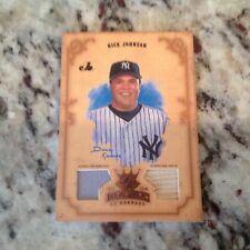 Yankee Nick Johnson 2004 Diamond Kings DK Materials Bronze 91/100 GU Bat Jersey