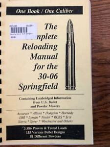 2004 THE COMPLETE RELOADING MANUAL FOR THE .30-06 SPRINGFIELD