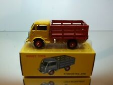 DINKY TOYS ATLAS 25A FORD BETAILLERE - SMALL TRUCK - YELLOW - EXCELLENT IN BOX
