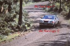 Jim Donald Nissan Bluebird Turbo New Zealand Rally 1983 Photograph 1