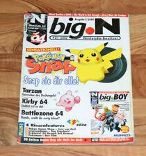 2000 Nintendo 64 Magazine Battlezone Kirby 64 Wario Land 3 Army Men Air Attack