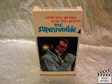 Mr. Superinvisible (VHS) Dean Jones Dylan The Shaggy Dog