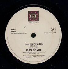 "Max Boyce(7"" Vinyl)Railway Hotel/ Morning Of My Life-PRT-PYS5-UK-1987-VG/NM"