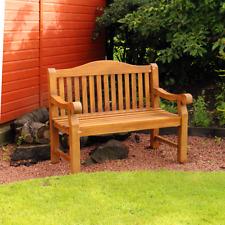 Beautiful Heavy Duty Teak Garden Bench - Seating Chair - Outdoor