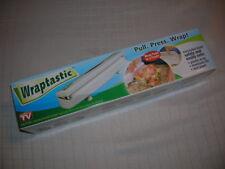 New Wraptastic as Seen on Tv Cuts plastic wrap foil parchment
