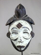 ANCIEN  :  MASQUE  PUNU  MOUKOUDJI   DU  GABON