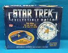 STAR TREK COLLECTIBLE WATCH, OFFICIALLY LICENSED WITH BOX -- *NEVER USED*