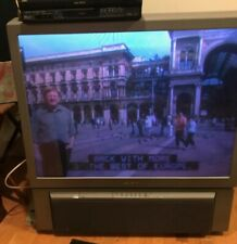 """SonyKp-43T75 43"""" 480P Hd Rear-Projection Television Working Floor Unit + Remote"""