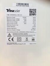 Trina 300w Black Frame Monocrystaline Solar Panel ( Can Transport Australia Wide