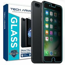 Tech Armor Privacy Ballistic Glass Screen Protector for Apple iPhone 7Plus/8Plus