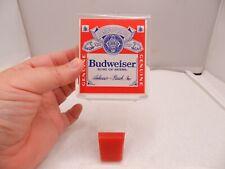 Budweiser Lucite Bar Beer Tapper Handle