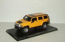 43 1//36-1//46 modelo welly auto con o sin... Hummer H3 SUV rojo 2005-2010 ca 1