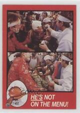 1986 Topps Howard Duck #47 he's not on the menu Non-Sports Card k0w