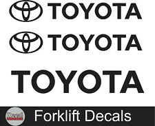 Toyota Forklift Equipment Vinyl Decal Stickers