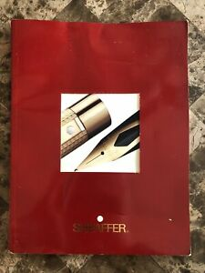1992 Sheaffer Pen Company White Dot Product Catalog Booklet - 45 Pages