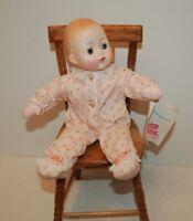"""Madame Alexander Vintage 1965 Baby Huggins 13"""" original clothes cries box"""