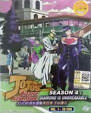 JoJo's Bizarre Adventure (Season 4: Diamond Is Unbreakable) DVD with English Sub