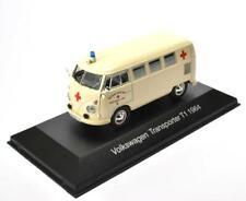 VW Transporter T1 Krankenwagen Krankenwagen Die-Cast Fertigmodell Maßstab 1:43
