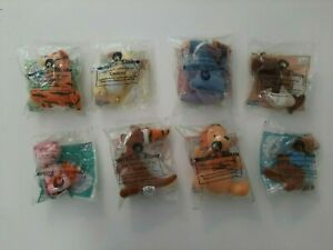 2000 McDonald's Happy Meal Toys Complete Set of 8 Pooh Friendship Plush Dolls