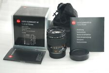 """TOP MINT Boxed""Leica SUMMARIT-M 75mm f/2.5 6 bit-code  #4108"