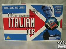 Italian Job, The (1969) VHS PAL Michael Caine, Boxed, with movie cards, RARE