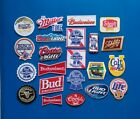 200 NEW RANDOM BEER Easy Sew/Iron On EMBROIDERED WHOLESALE 3 to 4 Inch PATCHES