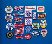 Bud Ice 1994 Logo Budweiser Beer Vintage Anheuser-Busch Sew On Applique Patch