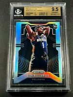 ZION WILLIAMSON 2019 PANINI PRIZM #248 SILVER REFRACTOR ROOKIE RC BGS 9.5 GEM