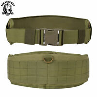 Tactical MOLLE Waist Belt Padded Patrol Combat Battle Outer Military Soft Belt