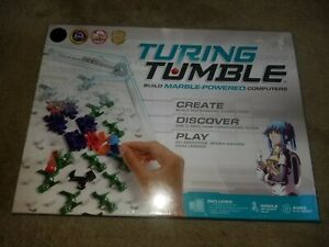 New Sealed Turing Tumble Game Logical, Mechanical Computer, FUN & EDUCATIONAL!