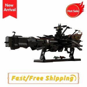 Captain Harlock Albator Battleship Building Blocks Kids Assemble Toys for Gifts