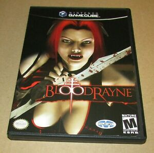 BloodRayne (Case Cover Art Only) Nintendo GameCube Authentic