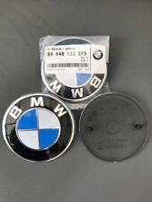 BMW 82MM ORIGINAL OEM BONNET OR BOOT BADGE EMBLEM E46 E36 E90 E60 E83 E92 M3 M5