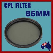 High Quality DSLR Lens 86mm Circular Polarizing (CPL) Filter Canon Nikon