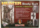 Heater Body Suit Ultimate Cold Weather Hunting Garment Choice Size/Camo & BONUS!