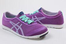 Asics Womens Metrowalk Walking Sneakers Shoes Purple Lilac Mint 6 NWB