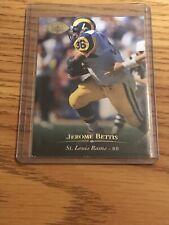 JEROME BETTIS ST. LOUIS RAMS HOF 1995 UPPER DECK ELECTRIC GOLD SP HOT HOT HOT!!
