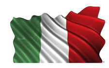 Italian waving flag italia Italy wall decal sticker  removable decal top quality
