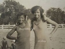 ANTIQUE AFRICAN AMERICAN FLAPPER BATHING BEAUTY SWIMSUIT INDIANAPOLIS IN PHOTOS