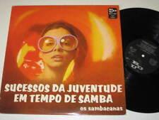 LP/OS SAMBACANAS/SUCESSOS DA JUVENTUDE ../BEATLES COVER