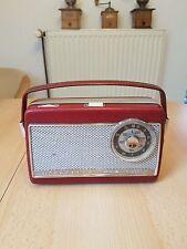 Nordmende Mambino Transistorradio F06 15676 in rot Langewelle Mittelwelle top ##