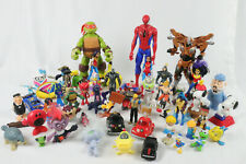 Junk Drawer Toys Lot Action Figure Mixed Accessories TMNT Marvel Transformers