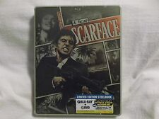 Scarface (Blu-ray/DVD, 1983, 2-Disc, Includes Dig.Copy; UltraViolet) Steelbook