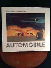 Vtg 1988 Wolfgang Oppermann Automobile  104pgs German Car Hot Rod Artist