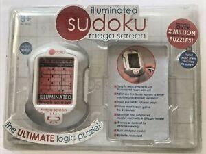 Sudoku Mega Screen - Illuminated Electronic Puzzles - New & Sealed