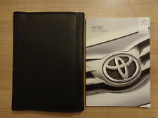 Toyota Aygo Owners Handbook/Manual and Wallet 14-17