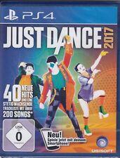 Just Dance 2017-ps4/Sony PlayStation 4-nuevo con embalaje original-versión alemana!