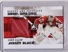 JAKE ALLEN 09/10 ITG Subway Super Series Jersey PRE-ROOKIE SSM-01 St Louis Blues