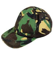 Kids DPM Camo Baseball Cap Army Camouflage Childrens Hat boys