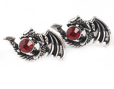 Game of Thrones Daenerys Targaryen Crystals Red Dragon Stud Earrings